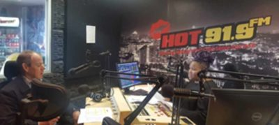 Econorisk on Hot 91.9 FM